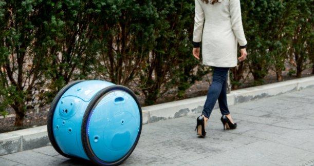 [거창한 꿈 가진 캐리어로봇] 반려견처럼 주인을 졸졸 따라다니는 바퀴 달린 화물 로봇이 등장했다. https://t.co/iUkBDG9ajF