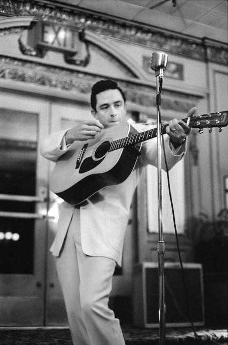 Happy birthday, Johnny Cash. We sure do miss you.