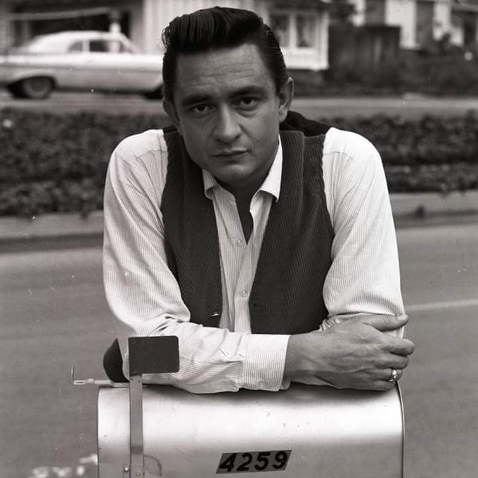 Happy Birthday to the Man in Black!  Johnny Cash