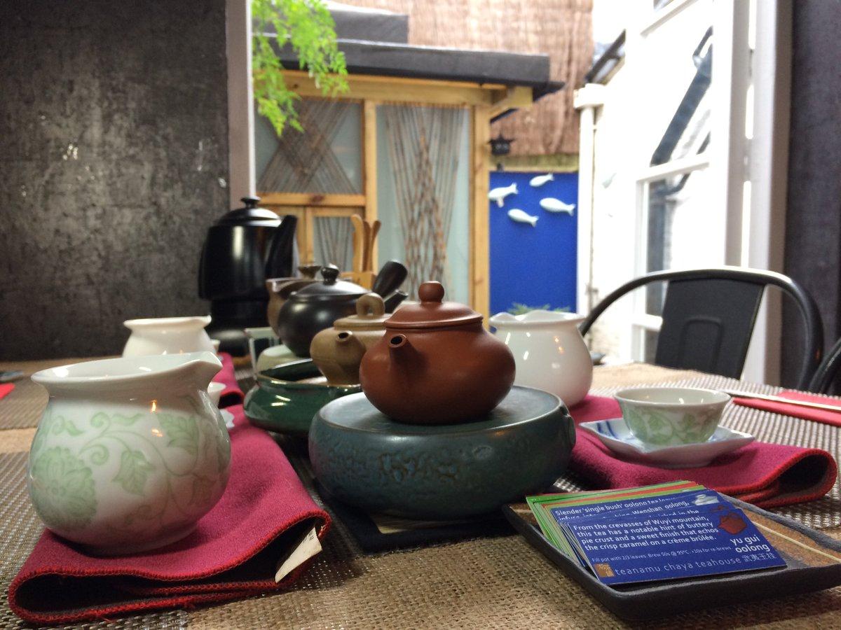 Teanamu Chaya Teahouse London's most cool afternoon tea