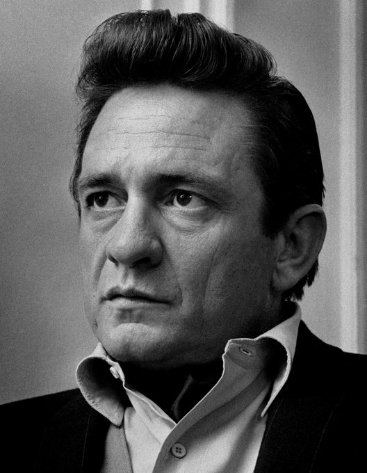Johnny Cash would be 85 today. Happy birthday Johnny. Died 9/12/2003.