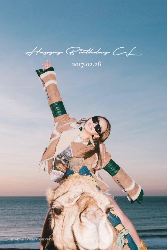 YG, 2NE1 씨엘 생일 축하 이미지 공개  #2NE1 #씨엘 https://t.co/TV6L2mLvGI