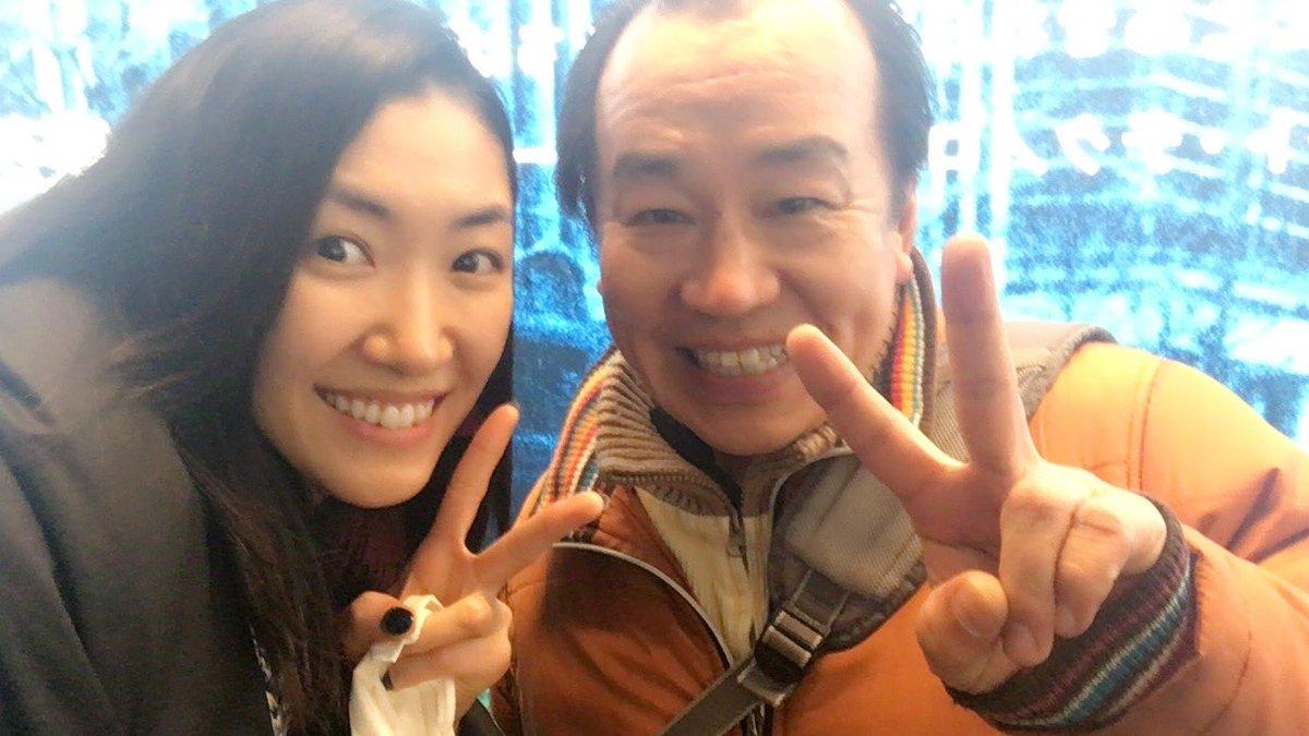 空港でバッタリ俵木さんに会ったよ(*≧艸≦)♡ぶちょーーーー!!!!!!(両さん風に)お気に召すままチームも無事大千秋楽