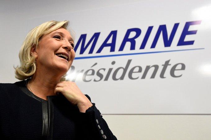 #MarineLePen à #Nantes, contre la «fable» des frontières communes de l'Europe : «Les #frontières nationales seront rétablies !»