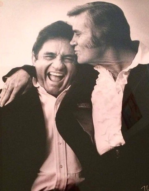 Loneliness is emptiness, but happiness is you. Happy birthday Johnny Cash. Forever my favorite.