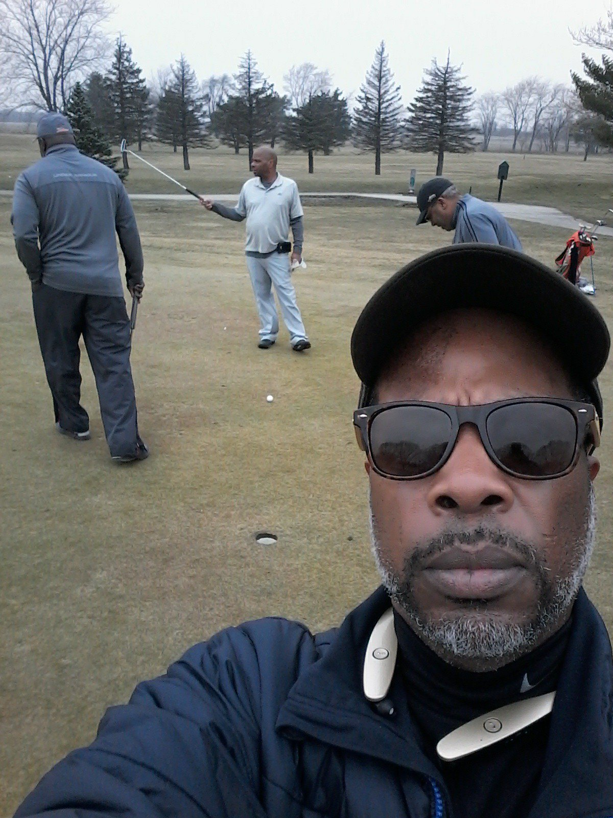 23 Days of partying, Chicago 65 degrees in February, Happy bday Golf . ..  .