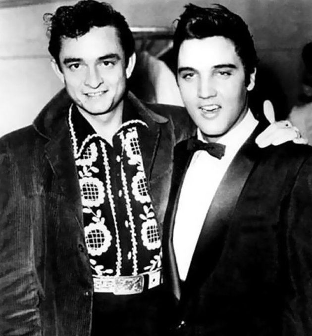 Happy birthday Johnny Cash! (Elvis a z n yim)