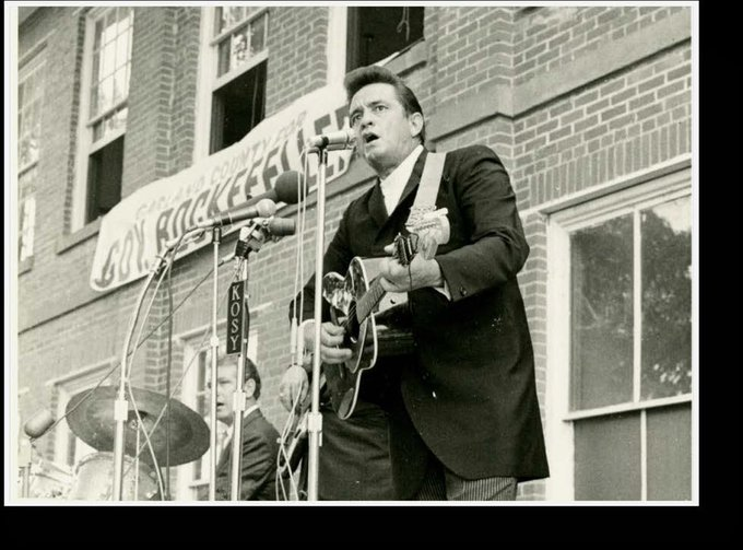 Happy birthday, Johnny Cash! He\d be 85 today.