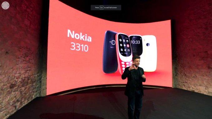 #nokia 3310 reboot gives us a healthy dose of nostalgia https://t.co/gsq9fhMC4W https://t.co/GEqrP7fkBq