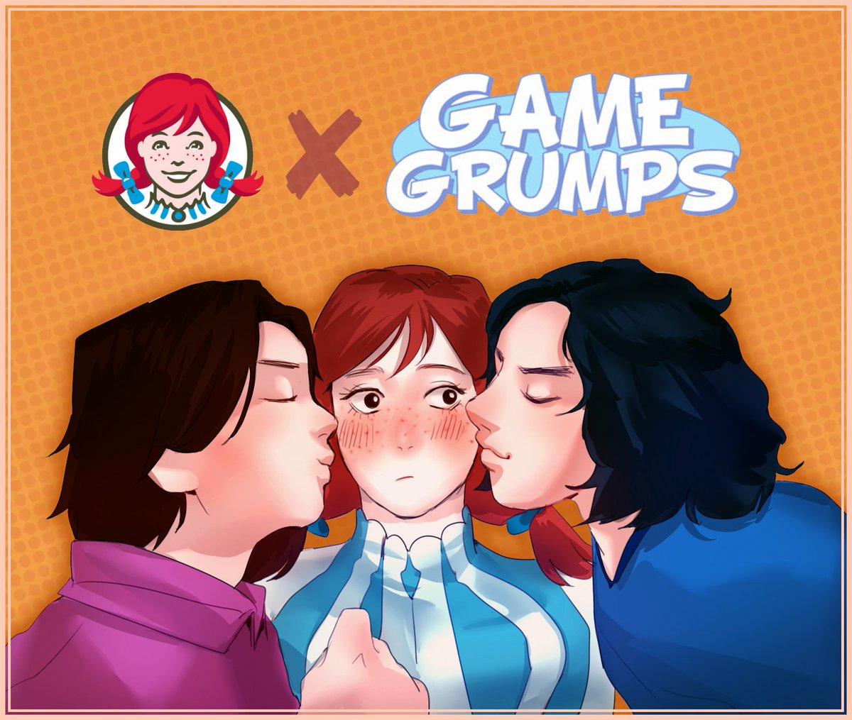 Game grumps fan art dawn