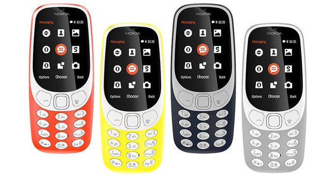 Nokia présente une nouvelle version de son mythique 3310 de l'annee 2000: 22 jours d'autonomie, couleur, appareil photo de 2MP... /Numerama