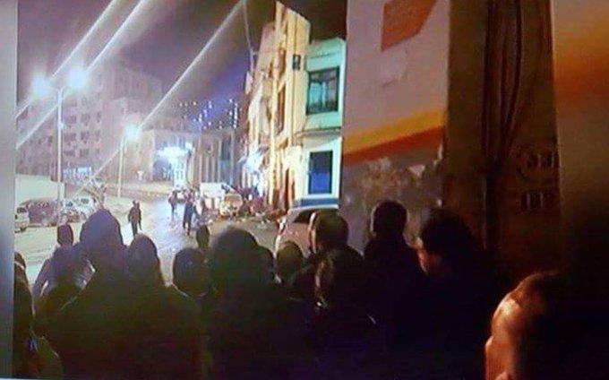 Explosion à #Constantine : les médias font désormais état de plusieurs blessés (crédits photo : @FADELZOUBIR) https://t.co/eOOUaQYuiP