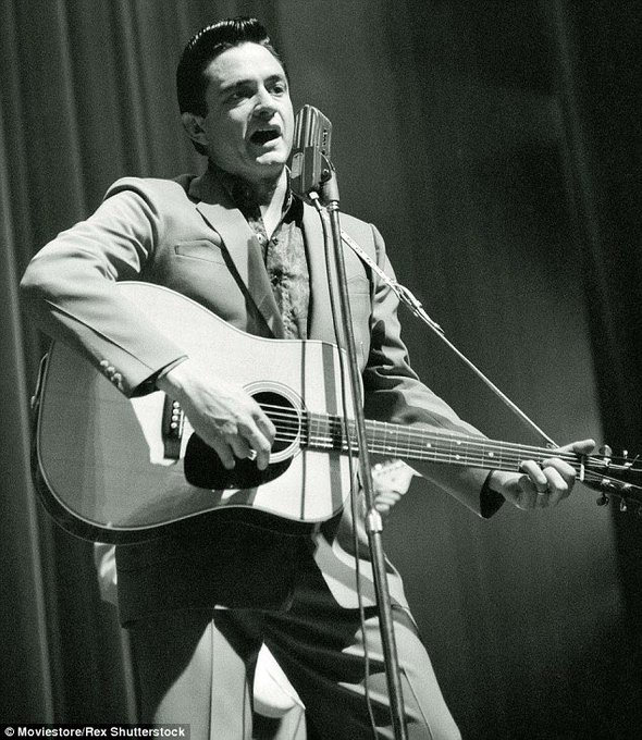 Happy 85th birthday to the Man In Black, Johnny Cash