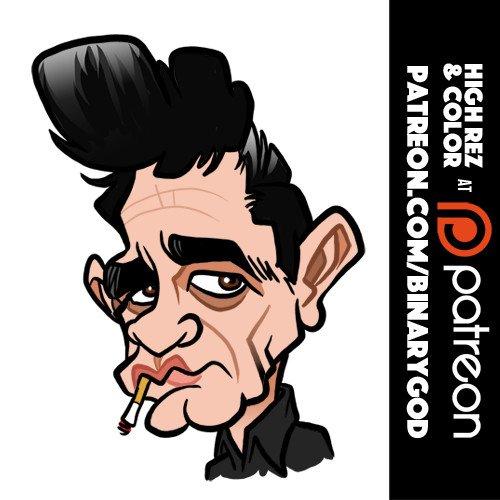 Feb 26: Happy birthday Johnny Cash! (RIP) Stay tuned for a Kickstarter book!