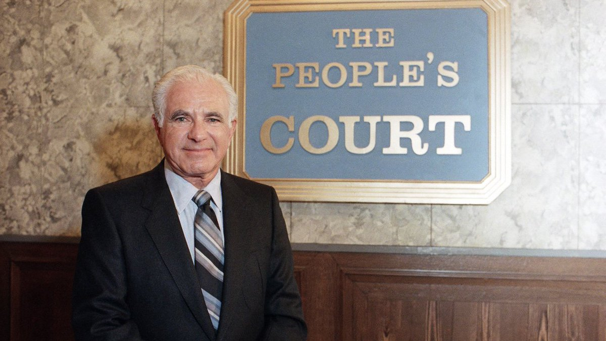 #BREAKINGNEWS Judge Joseph Wapner, who presided over 'The People's Court' on TV, dies at 97