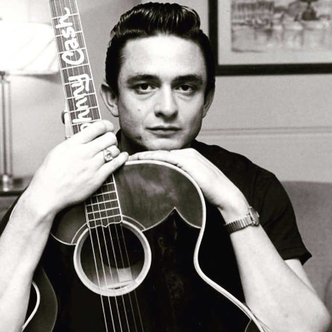 We\d jump in a ring of fire with him any day. Happy Birthday, Johnny Cash.