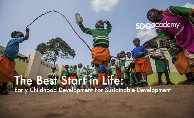 How do we make sure children reach their full potential? Join the @SDG_Academy course: https://t.co/HKZU7z7sBi #ECDMOOC #EarlyMomentsMatter