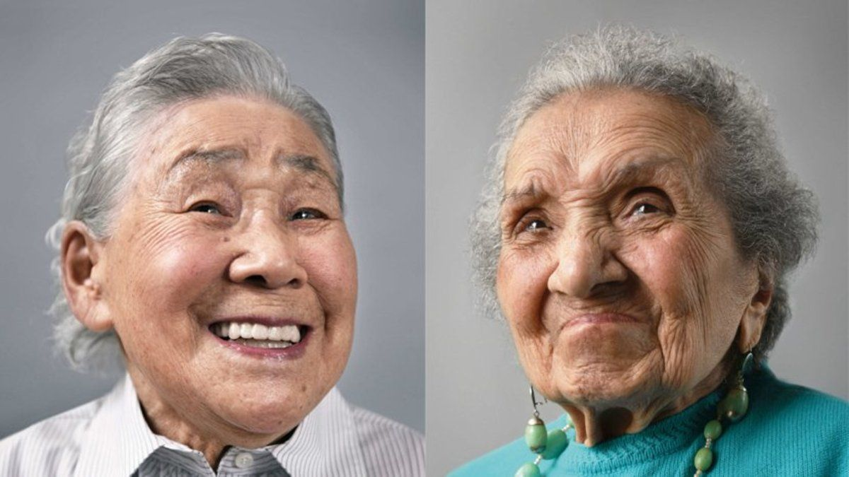 These incredible centenarians are posing to prove the power of turning 100 https://t.co/PUdtJGJ6DQ