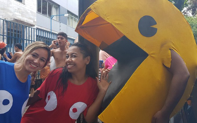 Blocos comandam a folia no domingo de carnaval em Belo Horizonte; FOTOS https://t.co/YLWwYPwtHu #Carnaval2017 #Globeleza #G1