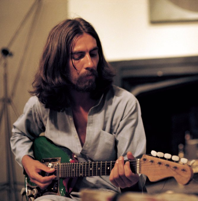 Happy Birthday to George Harrison yesterday
