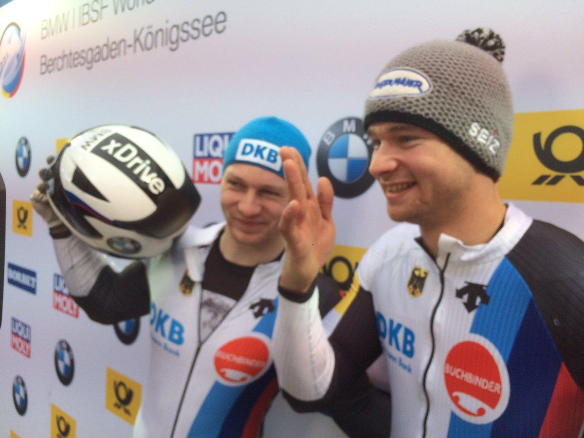 Doppelsieg bei Viererbob WM Bobteam Francesco Friedrich und Bobteam Johannes Lochner gewinnen #BMWworlds17 https://t.co/x5Jaa6yAxh