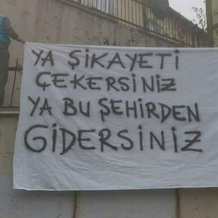 RT @Futbolmerkez: Bursaspor taraftarından, yönetime:
