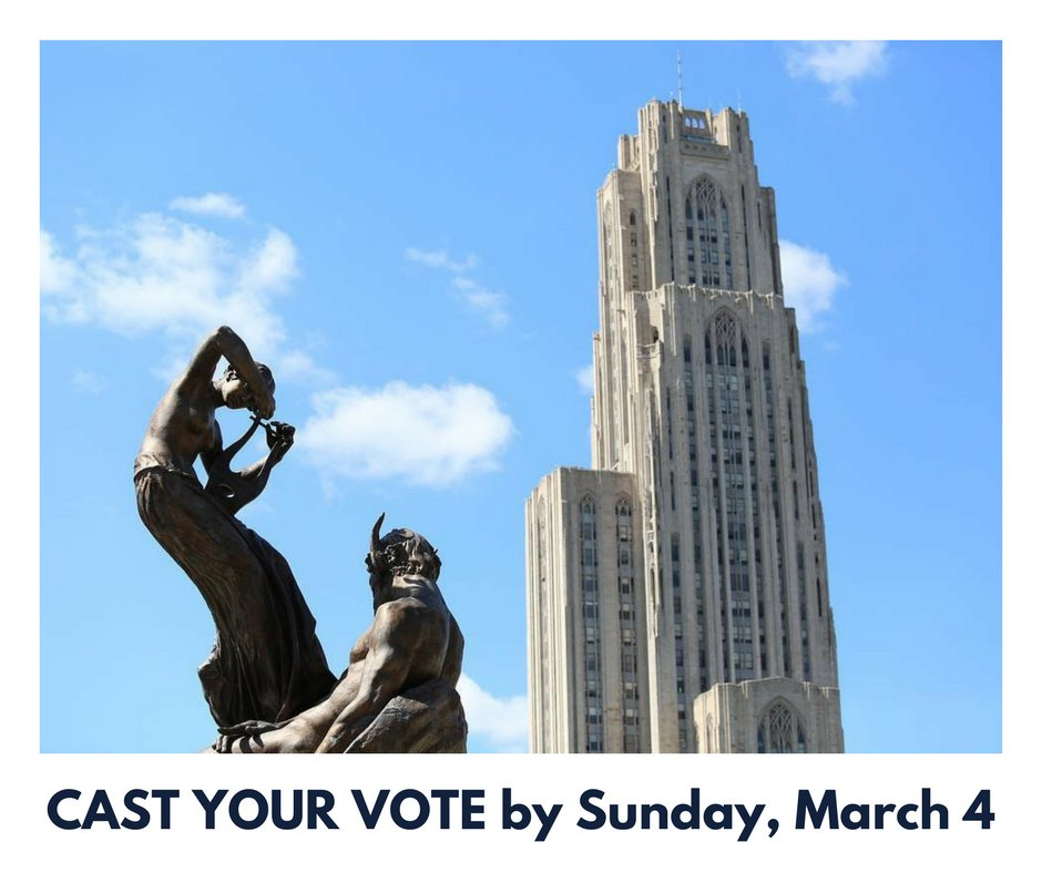 It's time to vote for your favorite Cathedral Innovation Challenge entry! https://t.co/uJ8FzlT3bf @PittAlumni https://t.co/z3UzxosQYB