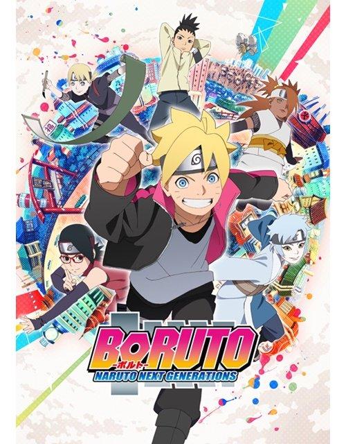 【ニュース】TVアニメ『BORUTO-ボルト- NARUTO NEXT GENERATIONS』のメインビジュアル&スタ