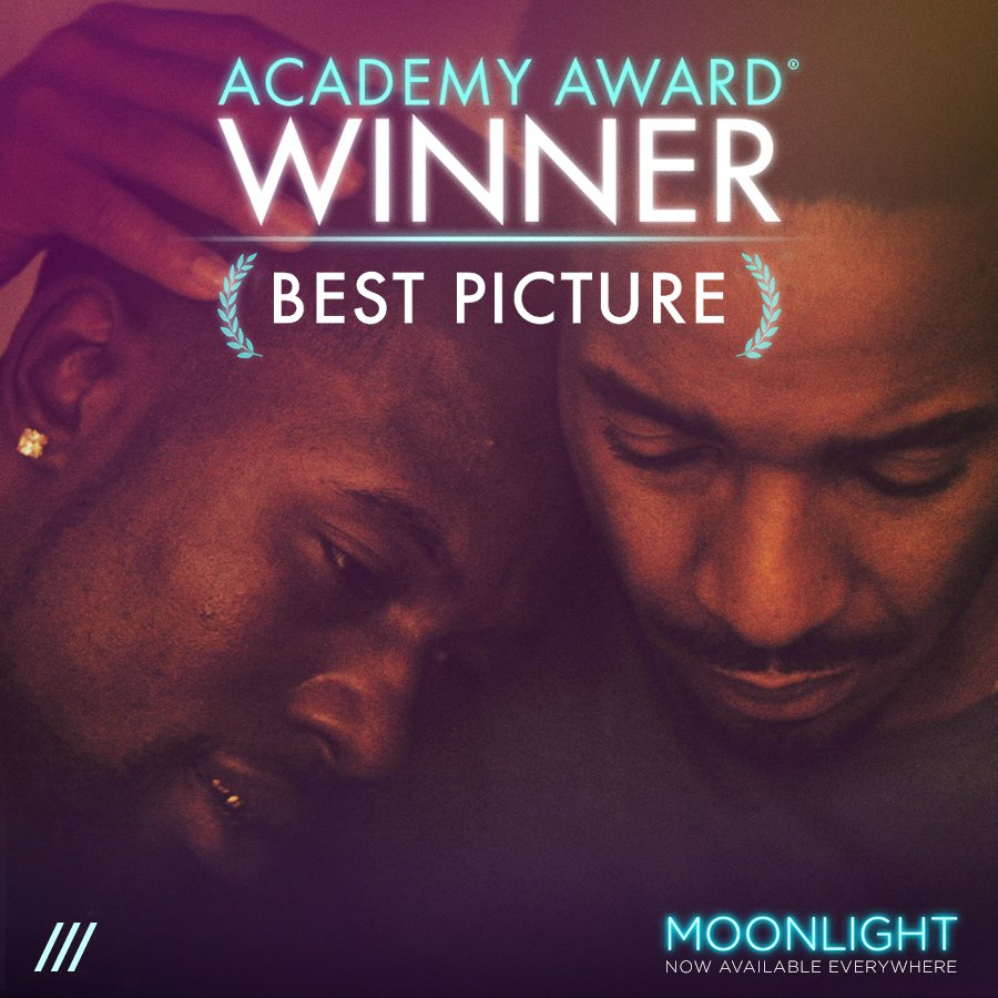 """To hell with dreams. I'm done with it. This is true."" #MOONLIGHT WINS BEST PICTURE! ALL LOVE, ALL PRIDE! #Oscars✨"