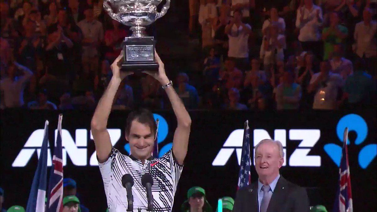 And finally, the Oscar for 'Best Moment of #AusOpen 2017' goes to...#Oscars