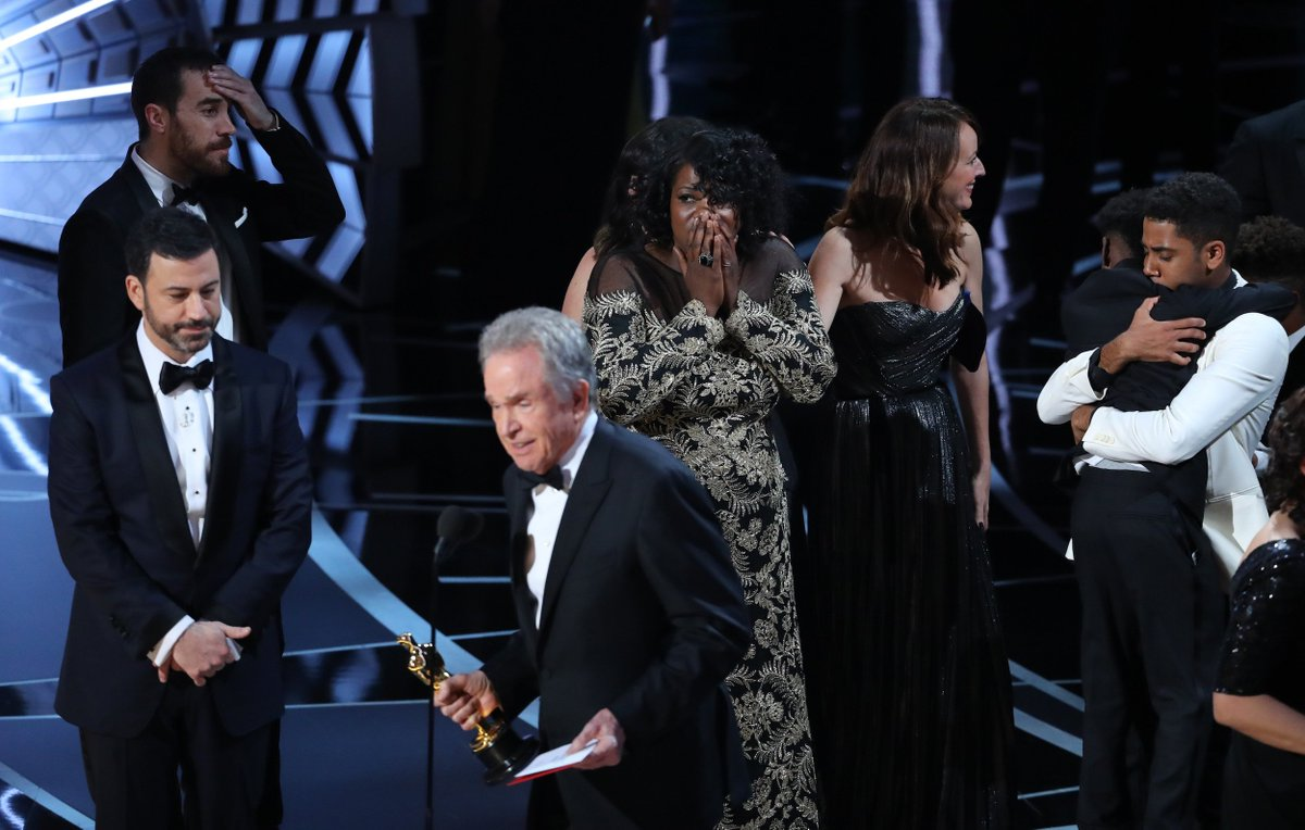 Here are the most memorable moments from the Oscars