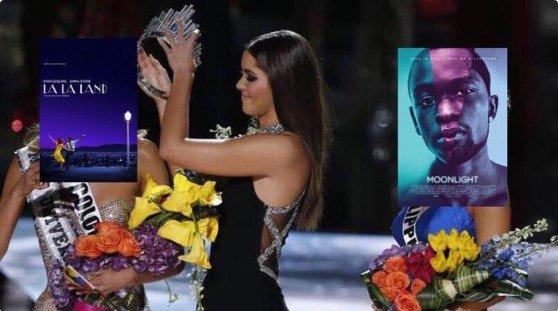 Oscar comete gafe histórica ao anunciar vencedor de melhor filme e vira piada.
