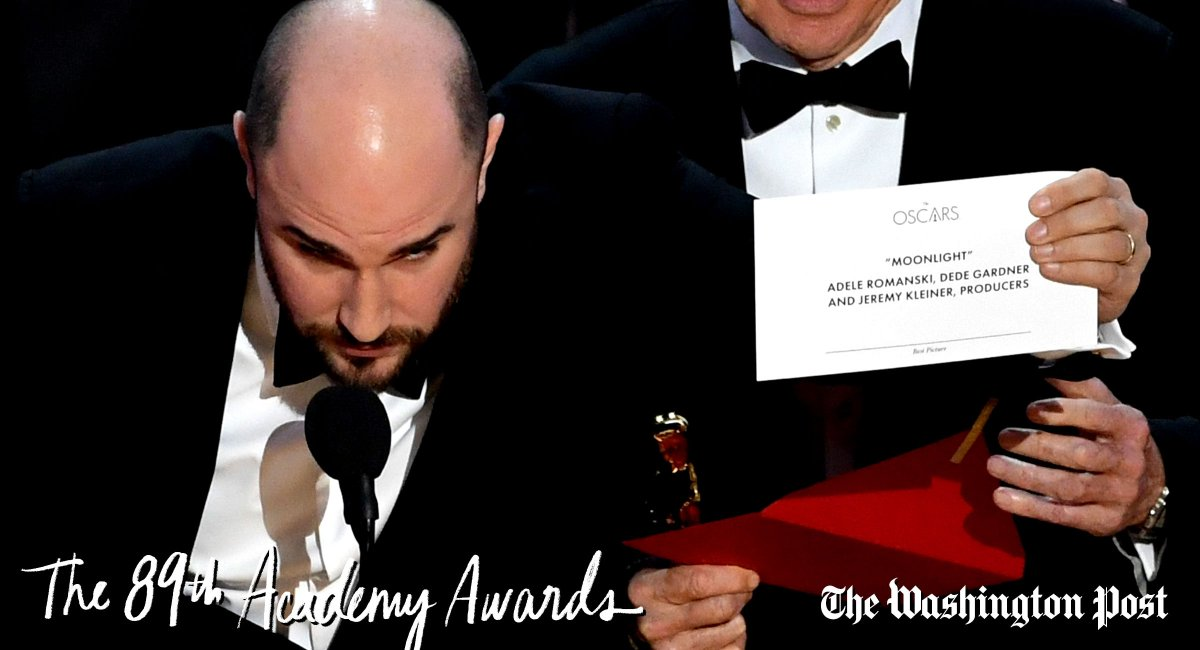 Watch what happened at the end of the Oscars