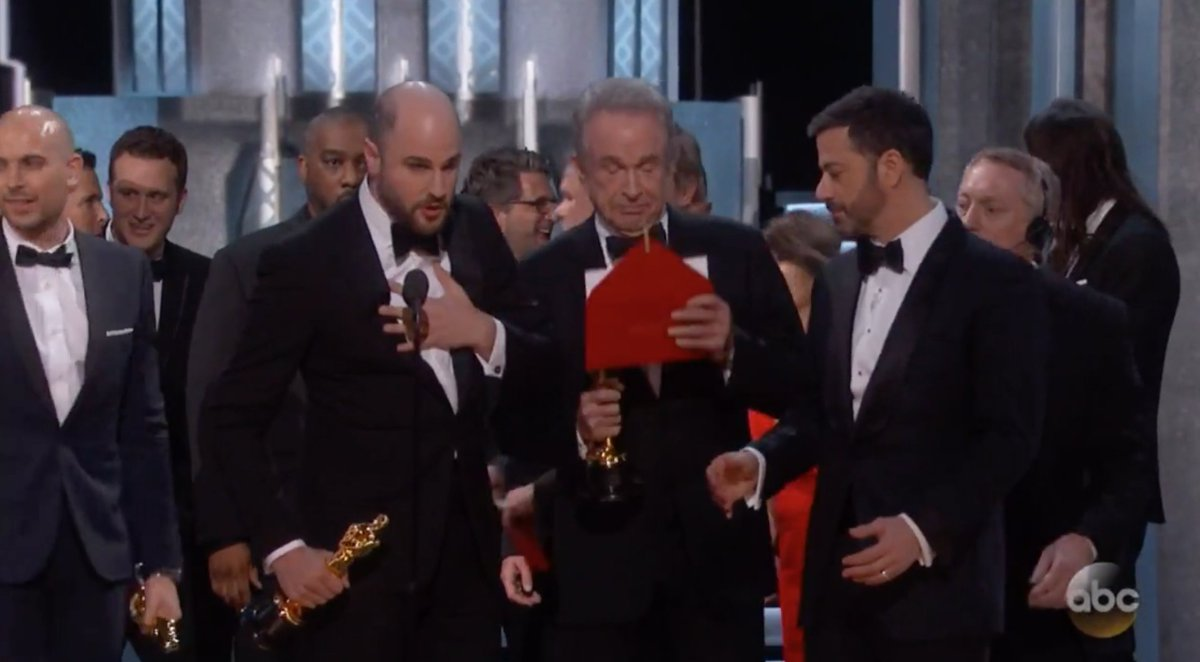 Biggest #Oscars mix up of all time? Watch the full play-by-play