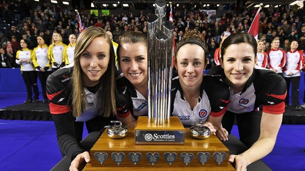 Ontario's Rachel Homan captures 3rd Tournament of Hearts curling title