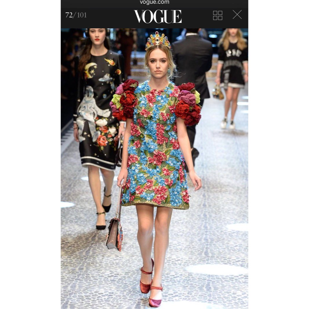 So proud of our @DelilahBellee making her #mfw debut in the @dolcegabbana show #DGMillennials ????⭐️❤ https://t.co/YagnUsaIyk