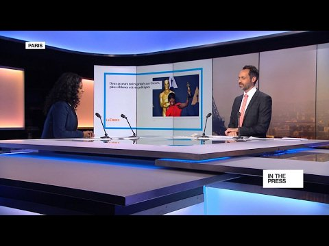 VIDEO -  Oscars: Not so white anymore, but very political