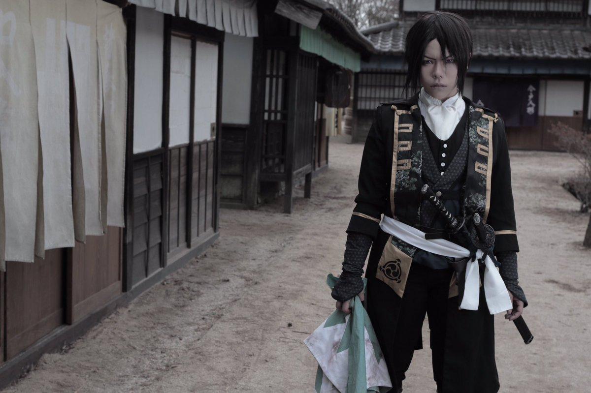 【コスプレ/薄桜鬼】『一一新選組 局長   土方歳三』撮影/そらさん