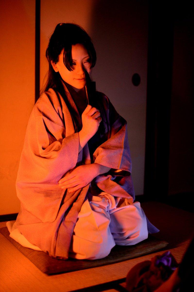 駆け引き薄桜鬼 斎藤一 モブA  水桜さん 伊東甲子太郎 葵さん 2017/02 photo
