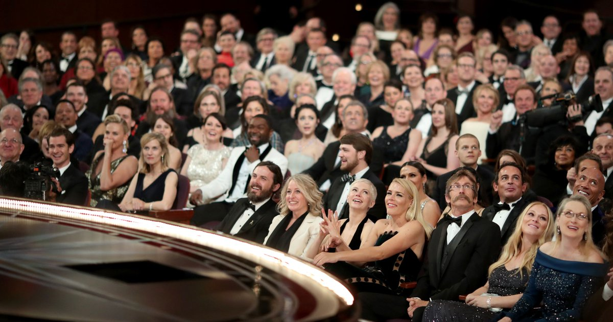 See priceless photos of the Oscars audience reacting to that best picture flub