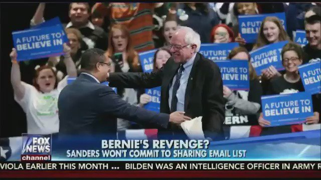 Bernie's revenge? Sen. Sanders won't commit to sharing email list of supporters with DNC