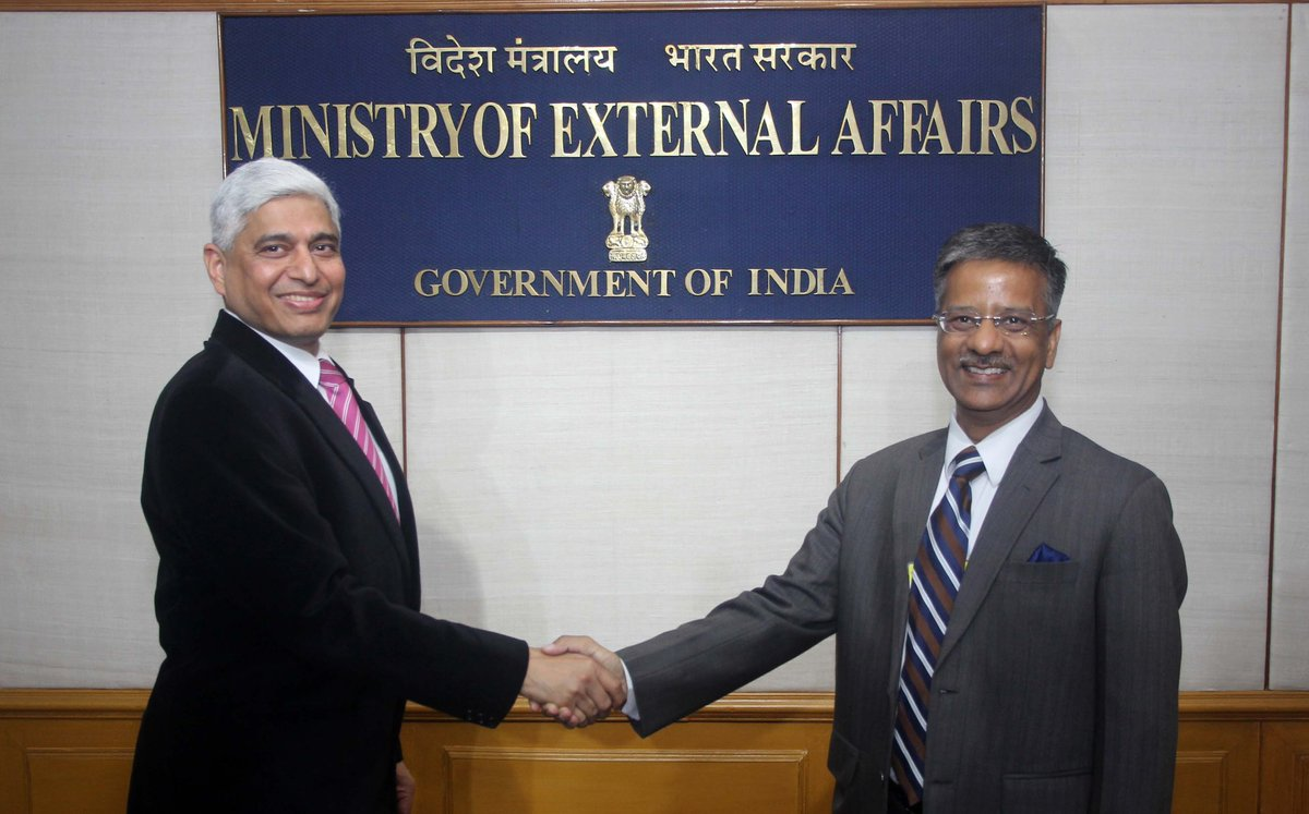 Gopal Baglay is the new Spokesperson of Ministry of External Affairs.
