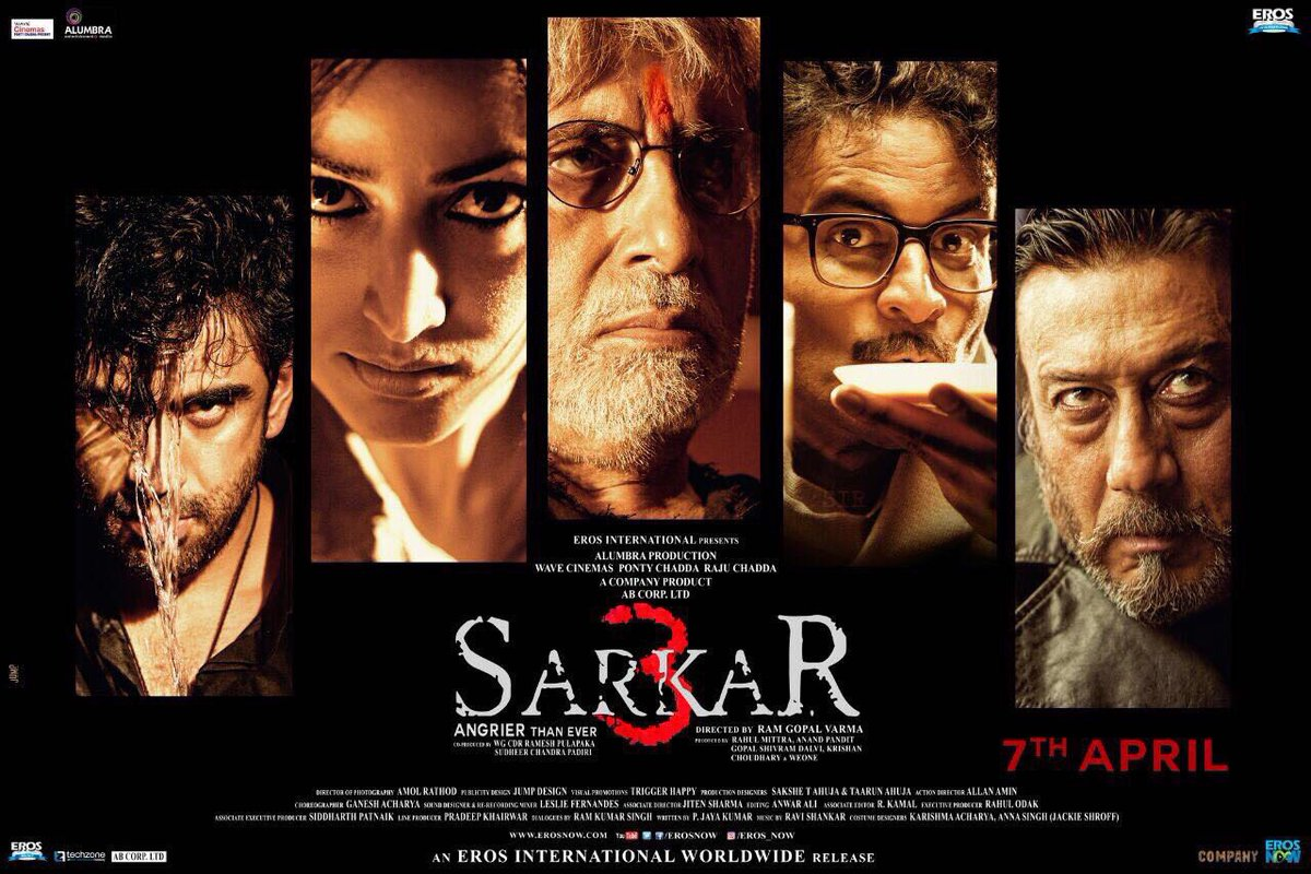 Amitabh Bachchan Is Back Angrier Than Ever SARKAR 3 First Look