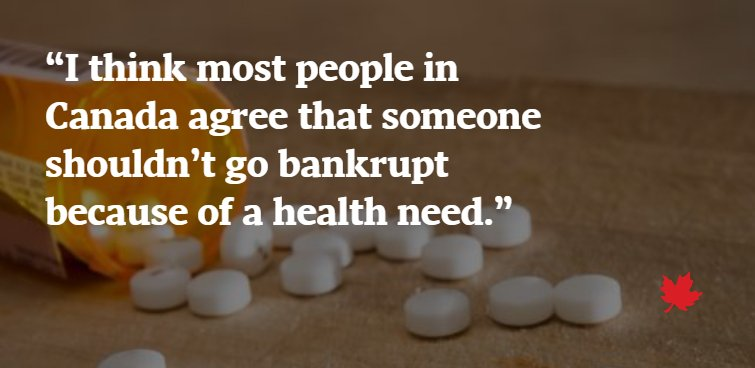 With universal drug coverage, Canadians could save billions studyFrom @carlyweeks