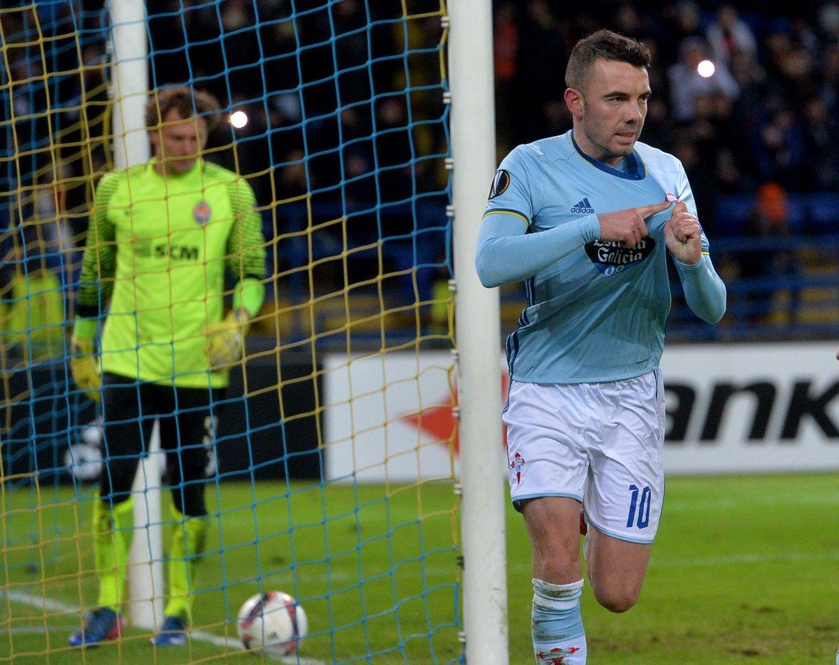 RT @EuropaLeague: Iago Aspas has scored 3 goals in 3 games for Celta. 🔥🔥🔥  #UEL https://t.co/j9ij6q2wqC