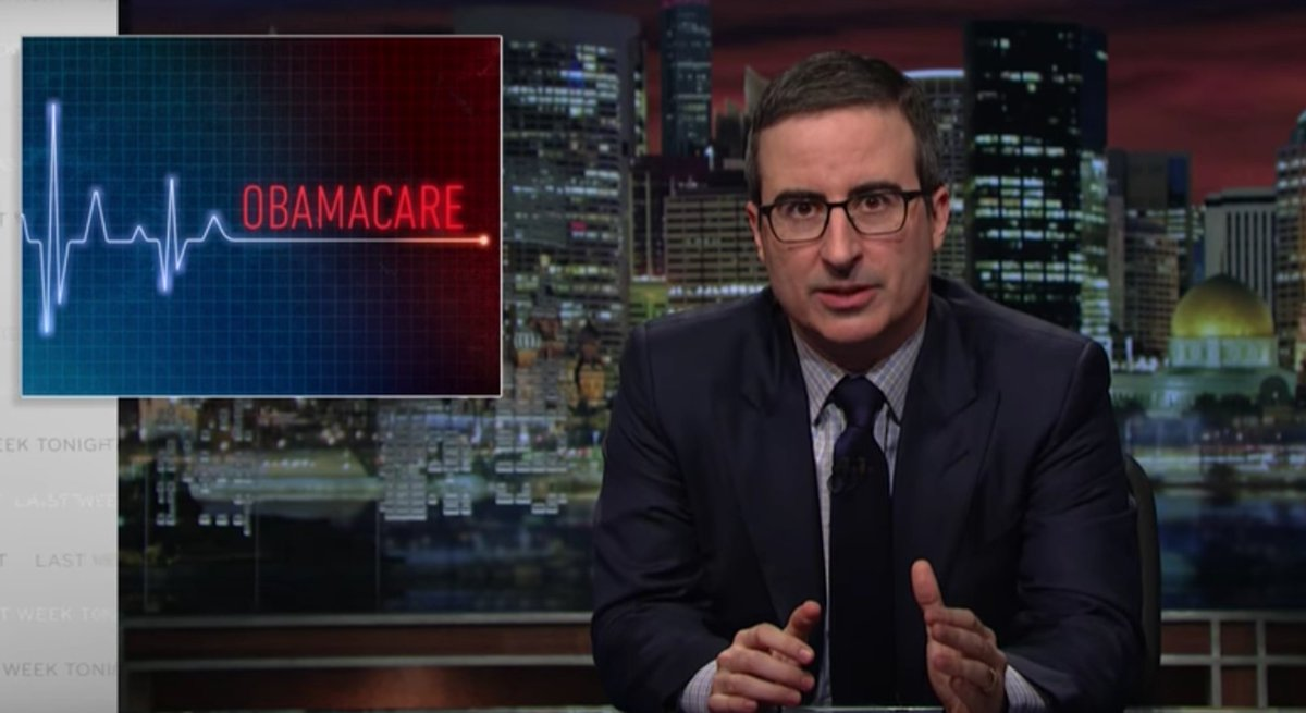 John Oliver Mocks Republicans for Failing to Come Up with Obamacare Replacement