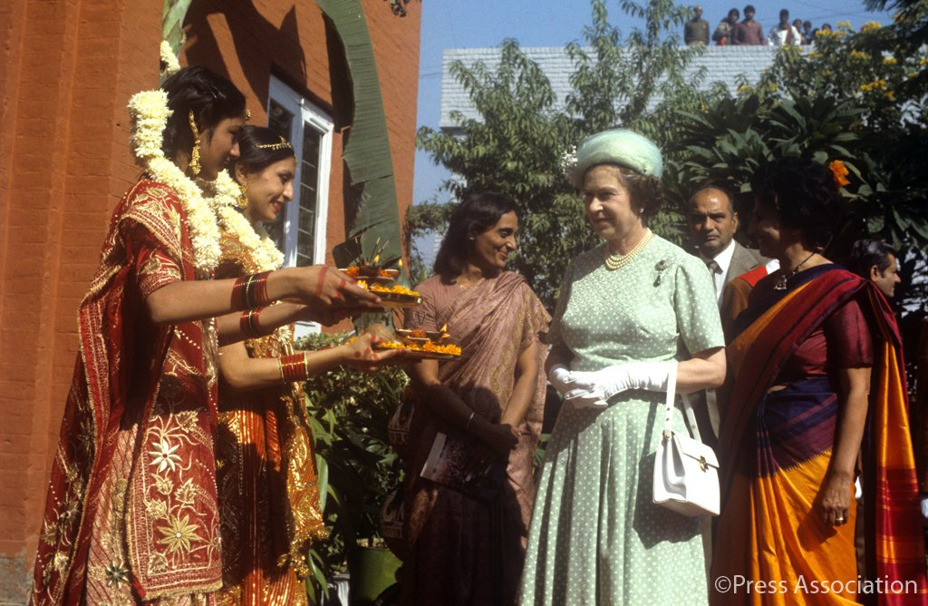 The Queen and The Royal Family have a personal connection with India and have visited several times.
