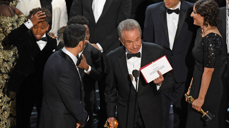 Last night's Oscars blunder isn't the first awards show mix-up