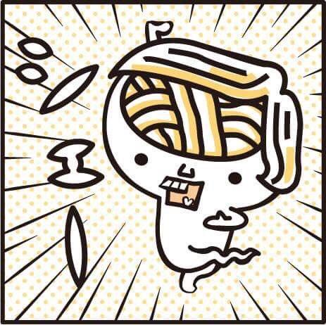 脳@)この前、声優の鈴村健一さんが「うどん脳」の話をしてくれてシェー!!ツル 声を演じてみたいとか…イケ麺ボイスで、もて