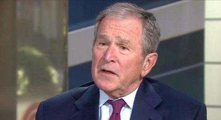 NEW Pres. Bush discusses Pres. Trump, press, Russia, travel ban and more on @TODAYshow.
